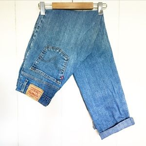 Levi's 550 Relaxed Fit Blue Jeans Size 6